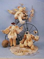 "Minerva Jane old west 12"" angel teddy bear primitive pattern"
