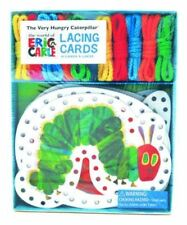 The Very Hungry Caterpillar Lacing Cards 9781452108193 by Eric Carle Paperback