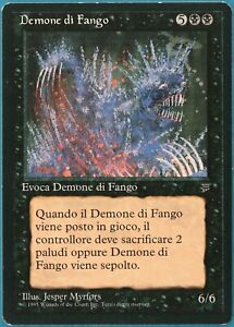 Mold Demon Legends (ITALIAN) PLD Black Rare MAGIC MTG CARD (ID# 250114) ABUGames
