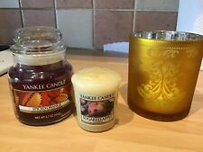 Yankee Candle Small Jar & Candle Holder