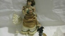 Sleepy Little Sailor Victorian Porcelain Doll By Judy Belle For The Danbury Mint