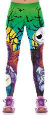 Nightmare Before Christmas Polyester/Spandex Womens Leggings