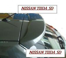 Rear Windshield Hatchback Spoiler for NSN Versa 5D Tiida Latio 2004+