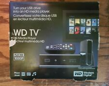 Western Digital WD TV HD Media Player Full HD 1080P With Remote Model WD00AVN