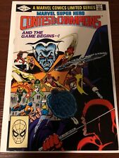 Marvel Super Hero Contest of Champions  # 2. Rare really condition nice!