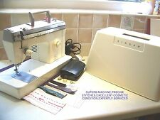 A BEAUTY SINGER 377 ZIGZAG HEAVY DUTY SEWING MACHINE,C/CASE,EXPERTLY SERVICED