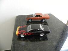 1969 & 1971 Plymouth Road Runner Johnny Lightning 1:64 Two Car Lot