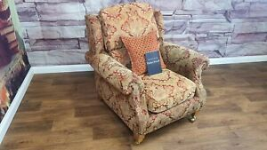 PARKER KNOLL HENLEY ARMCHAIR IN BALENCIAGA ANTIQUE RED RRP £1150