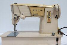 Vintage 317K Electric SINGER Sewing Machine w/ Soft Case - 250