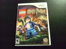 Replacement Case (NO GAME) HARRY POTTER YEARS 5-7 NINTENDO WII