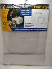 Petmate Doghouse Door Slit Flap Petbarn 3/Barnhome 3/Top Paw-Pet Carrier SMALL