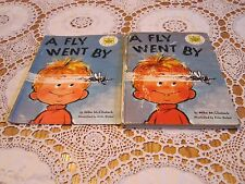 A FLY WENT BY Mike McClintock Fritz Siebel Seuss Suess 1958 HC/DJ Early Edition