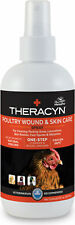 Theracyn Poultry Wound & Skin Care Spray Made in USA