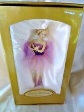 Bonful Company Polyresin Bejeweled Ballerina in Exquisite Purple Nib