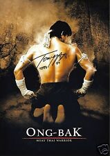 TONY JAA - ONG-BAK AUTOGRAPH SIGNED PP PHOTO POSTER