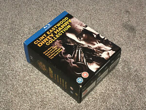CLINT EASTWOOD : DIRTY HARRY COLLECTION - 5 FILM BLU RAY BOXSET VGC (FREE UK P&P