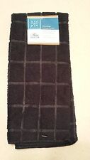 Kitchen Towel Accessory Microfiber Black Solid Color NEW