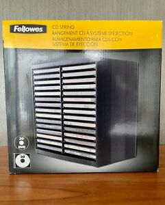 Fellowes CD Storage Unit CD spring. Holds 48 CD's (30 + 18 on top of the unit)