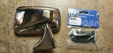 CLASSIC CAR CHROME TEX Right Hand Rectangular Door Mirror  MGB TRIUMPH