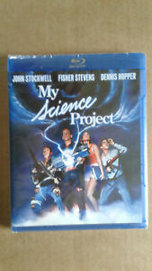 My Science Project Blu-ray (KINO LORBER) Brand New ! 80's Cult Classic !