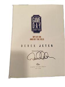 derek jeter signed book