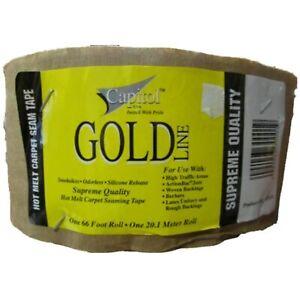 Gold Capitol Carpet seam tape