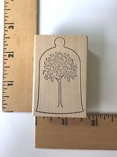 Memory Box Rubber Stamps - Cloche Tree - D1854 - NEW