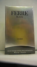 FERRE' BLACK UOMO EAU DE TOILETTE  30ML SPRAY NUOVO INTEGRO