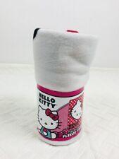 Hello Kitty Fleece Throw Blanket Soft & Warm 45'' x 60'' Polyester