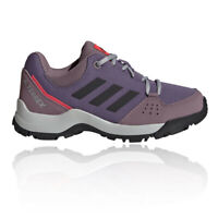 adidas Boys Terrex HyperHiker Low Walking Shoes - Purple Sports Outdoors