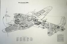 Original Plakat - Avro Lancaster B Mk. I
