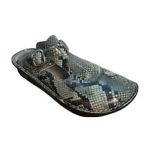 Alegria ALG-723 Snake Skin Slide-Ons Wm'ns Sz 39 U.S. 8.5-9