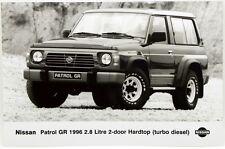 Fotografia Originale - Nissan Patrol GR 1996 2,8 Litre 2-Door Hardtop (Turbo D