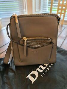 Dune London grey backpack style bag