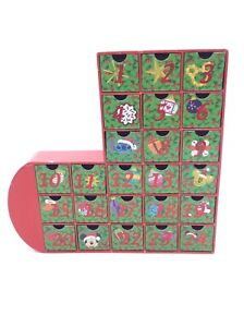 Charming Christmas Stocking Advent Calendar Set 33 Damaged