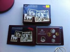 2005  AUST PROOF SET OF 6  COINS THEME: ANZC  COMING HOME