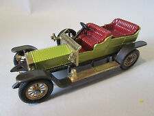 Matchbox Models of Yesteryear 1906 Roll-Royce Silver Ghost Car Y-10 England 1:51