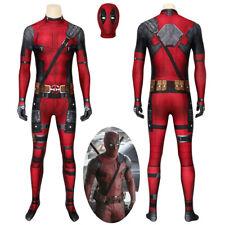 Deadpool Costume Cosplay Suit Wade Wilson 3D Printed Men Outfit Ver 2