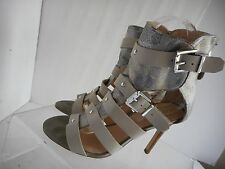 Guess  Stiletto Heels  Multi-Color  Leather Sandals Shoes Womens Size 7 M