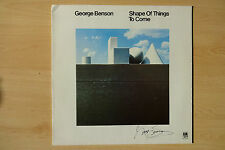 """George Benson Autogramm signed LP-Cover Vinyl """"Shape Of Things To Come"""""""