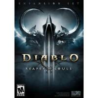 Diablo III: Reaper of Souls Expansion Set (Windows/Mac, 2014) - BRAND NEW