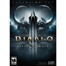 NEW SEALED Diablo III: Reaper of Souls Expansion Pack (PC Games) Windows or Mac