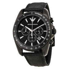 Emporio Armani Sigma Black Dial Chronograph Men's Watch AR6131