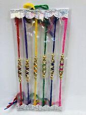6 Rakhi Thread Raksha Bandhan Multi Colour Mix Rakhi Rakhadi Set of 6