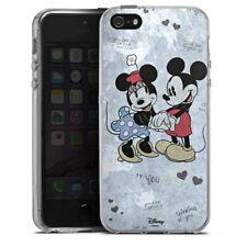 Apple iPhone 5 Silikon Hülle Case - Mickey&Minnie In Love