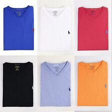 NWT Polo Ralph Lauren Men V-Neck Modern Classic-Fit T-Shirt Tee MSRP $45.00