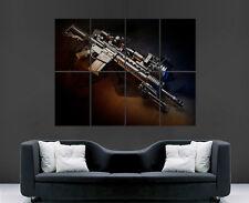 M16 FUCILE PISTOLA POSTER ARMA automatica Stampa Arte Parete Immagine di grandi dimensioni