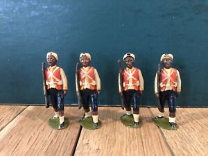 Britains: From EARLY Set 19 - West India Regiment. First Version c1898