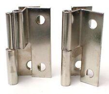 Hinge Cabinet 49mm 1pr 1382 Right Hand Lift Off Nickel Plate offset UK c details