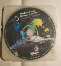 BMW NAVIGATION CD DIGITAL ROAD MAP DISC 5 MIDWEST OHIO VALLEY S0001-0115-008